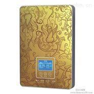 金色奢华热水器玻璃面板